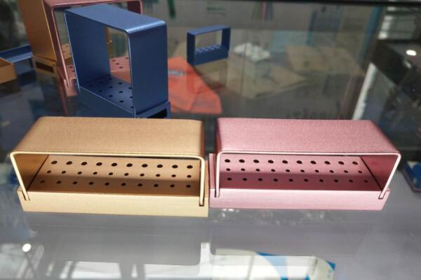 10/15/30-Hole dentali Frese Holder / Bur Box / Endo Box