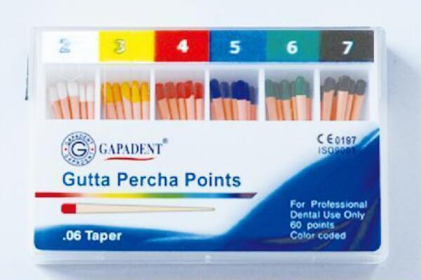 Gutta Points-TPG (Plus Pro Points Gutta percha conicité)